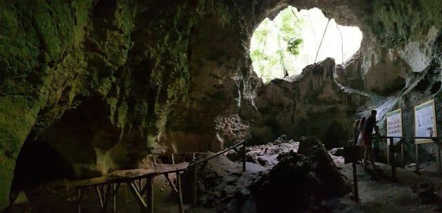 cuevas del parque Nacional los Haitises