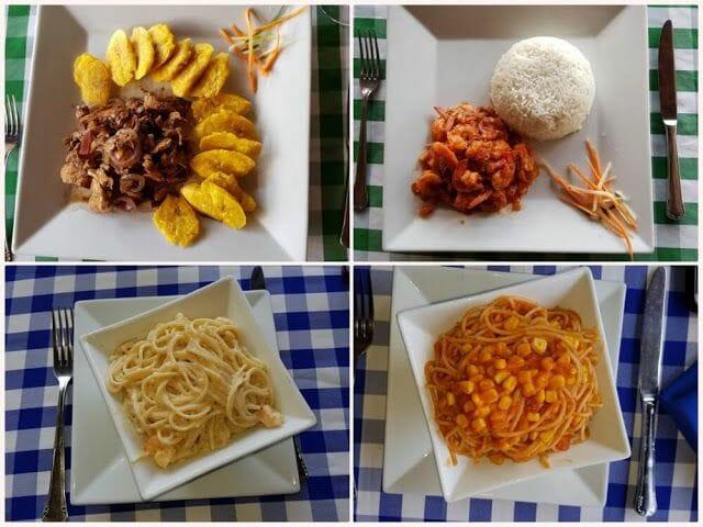 Paraíso Caño Hondo restaurante comida