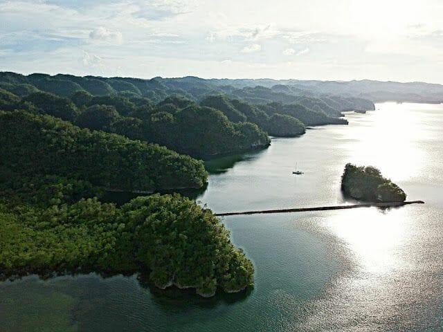 parque Nacional los Haitises desde nuestro drone