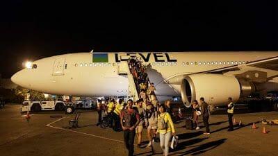 avión Barcelona Punta Cana