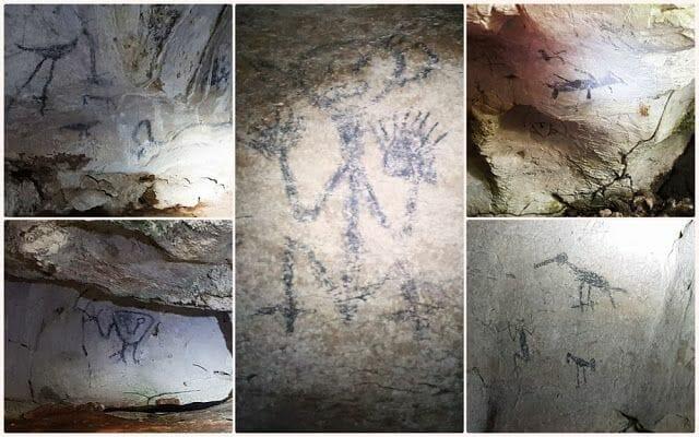 pictografías del parque Nacional los Haitises