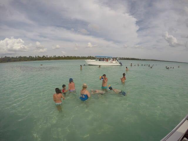 estrellas de mar en isla saona