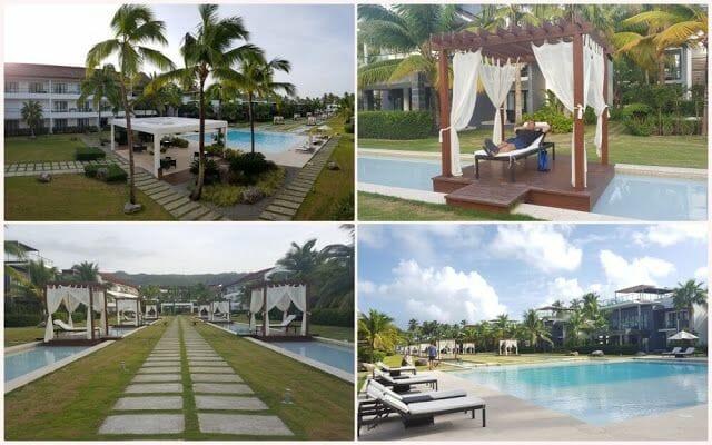 piscinas del hotel Sublime samaná