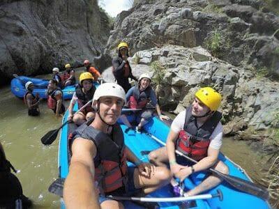 rafting en el viaje a República Dominicana
