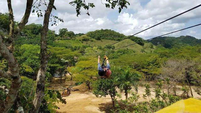 Tirolinas - Parque Nacional los Haitises