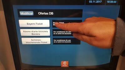 Bayern Ticket - Transporte público Múnich
