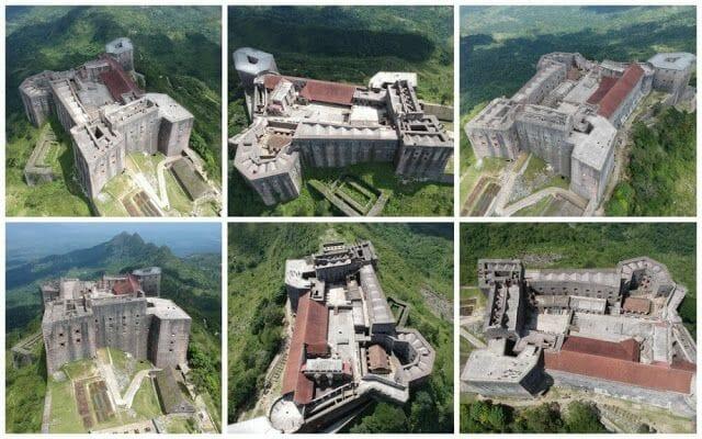 Citadelle laferrière de Haití tomas aereas