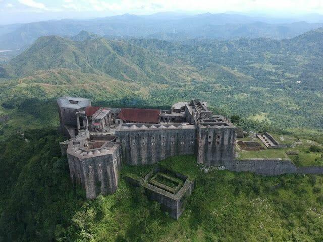 Citadelle laferrière de Haití lateral