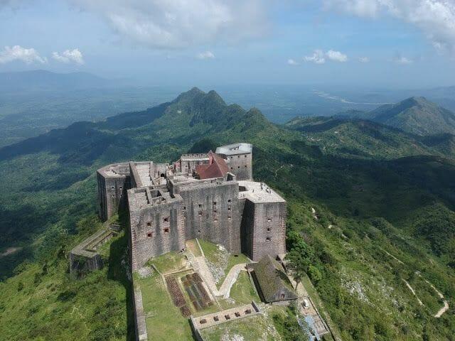Citadelle laferrière de Haití vista pájaro