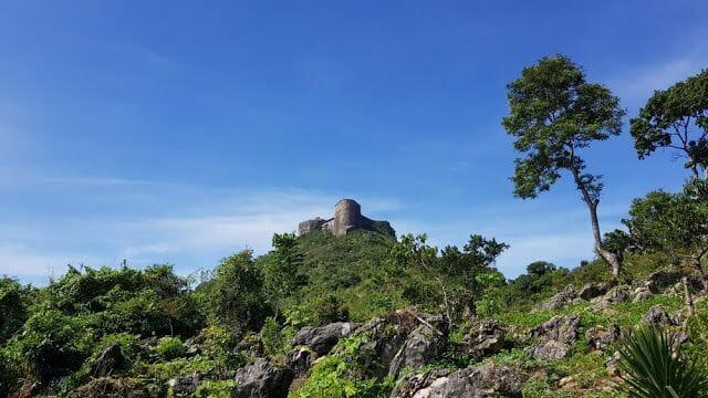 Citadelle laferrière de Haití en montículo