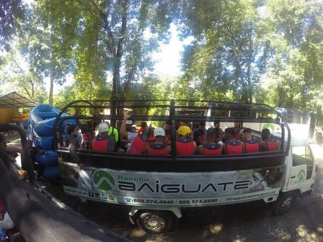 camion rafting jarabacoa