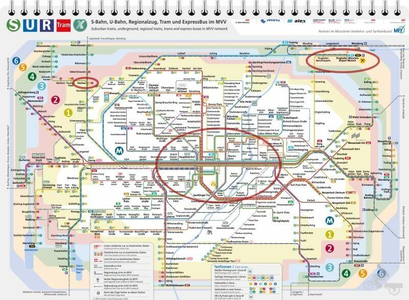 zonas transporte publico de munich
