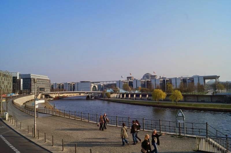 río Spree de berlín