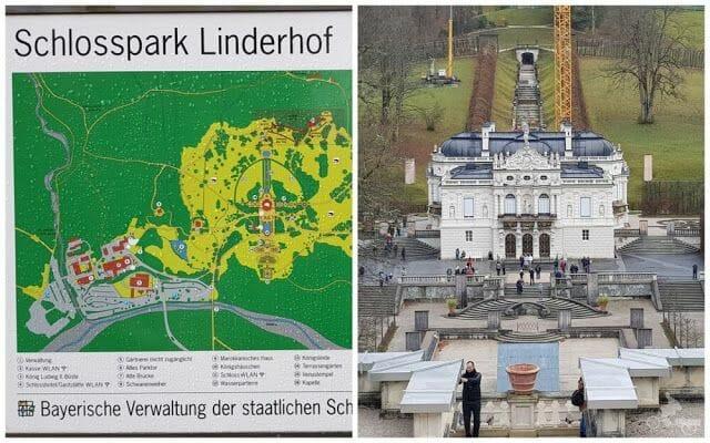 Palacio de Linderhof - ir al castillo de Neuschwanstein desde Múnich