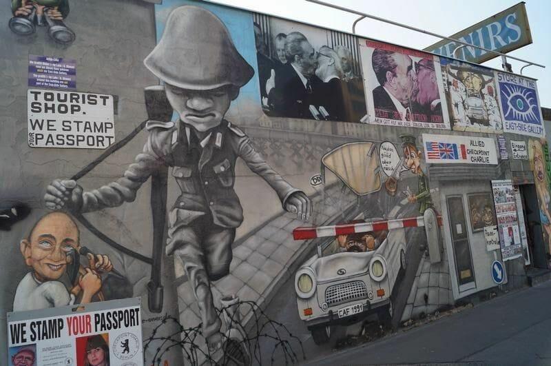 murales de Berlín
