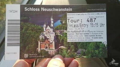 Castillo de Neuschwanstein entrada y precio