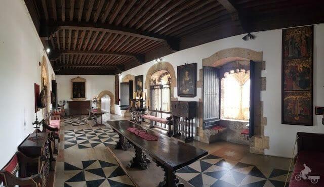 salas alcázar de Colón