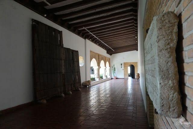 pasillo museo casas reales santo Domingo