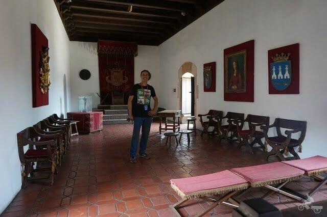 Audiencia museo casas reales santo Domingo