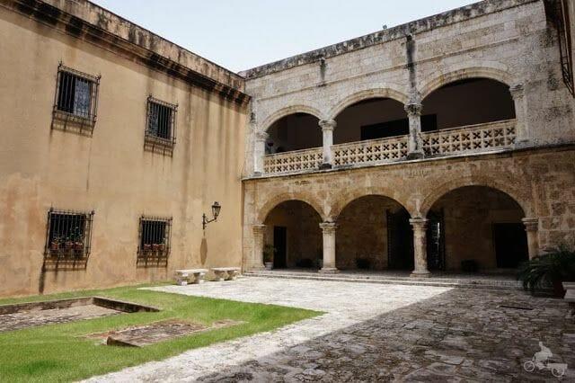 patio museo casas reales santo Domingo