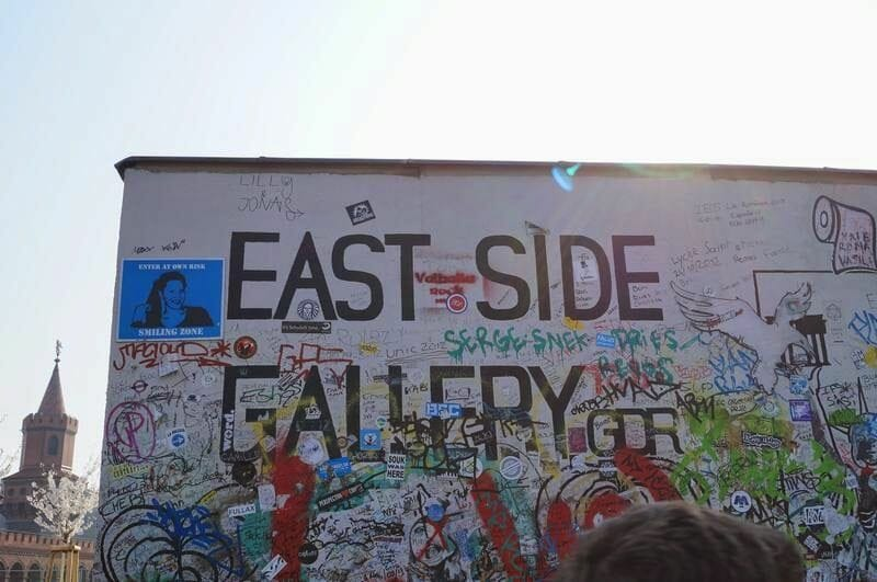 pintada de east side gallery