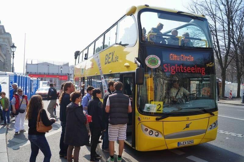 Bus turistico Berlin