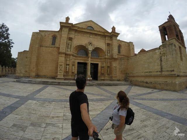 puerta Mayor de la catedral primada de america