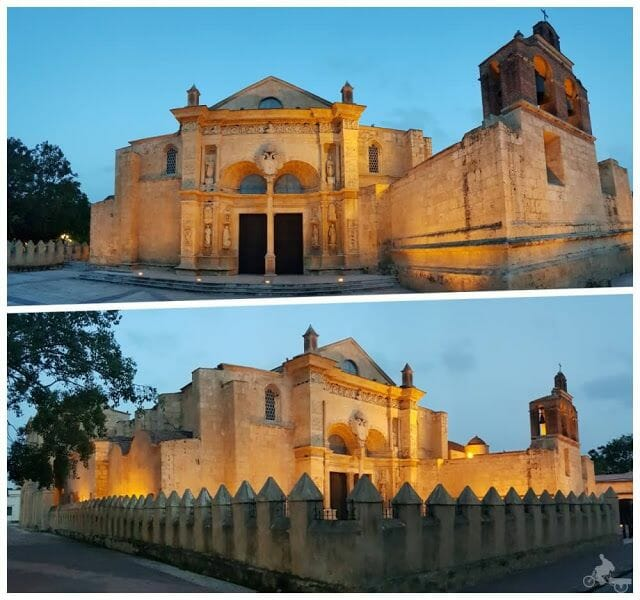 catedral de santo domingo de noche