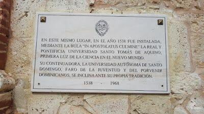 placa Convento de Santo domingo