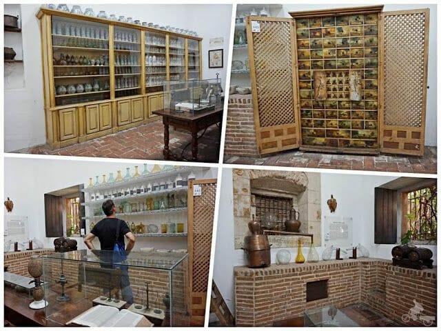 farmacia museo casas reales santo Domingo