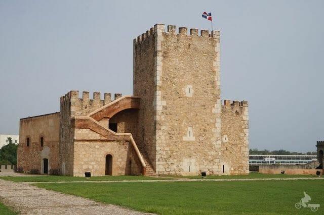 torre del Homenaje de la fortaleza Ozama