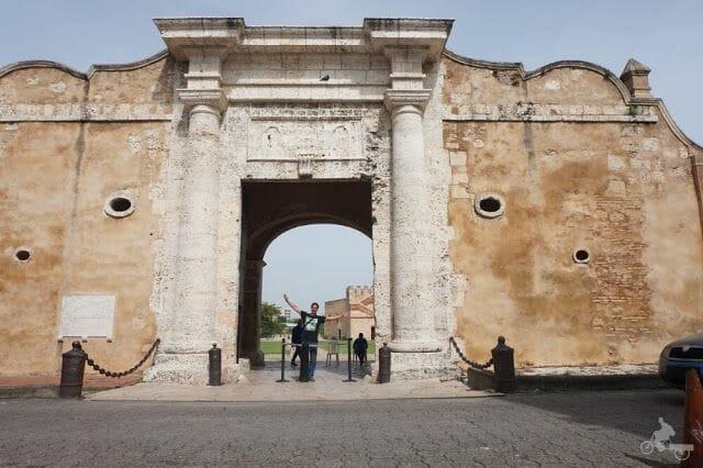 puerta carlos III fortaleza Ozama