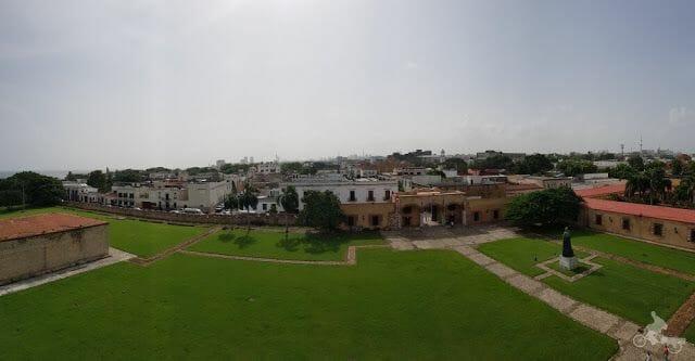torre homenaje fortaleza ozama en 360º