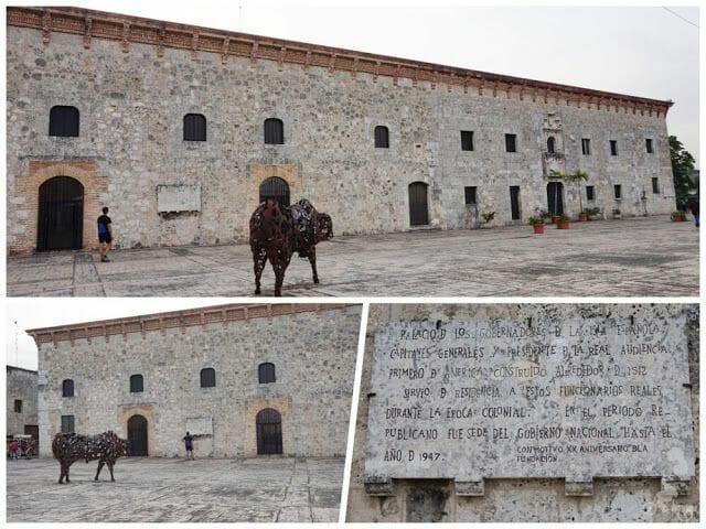 fachada museo casas reales santo Domingo