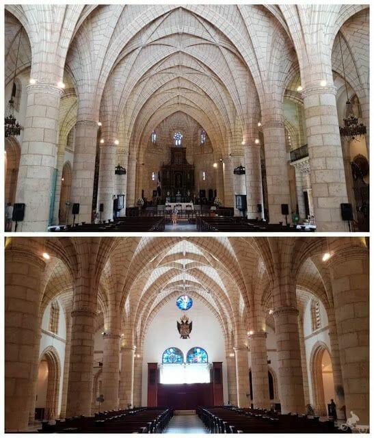 interior catedral de america