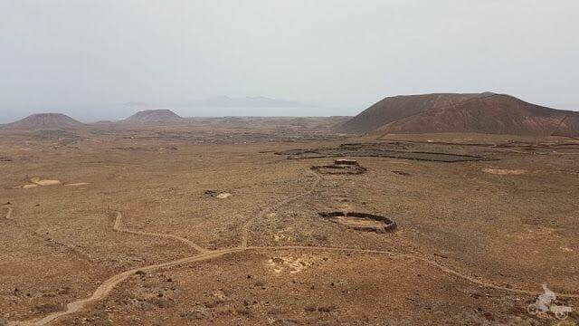 vistas desde la cima volcán Calderón Hondo