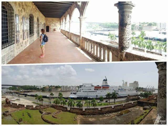 alcázar de Colón y rio ozama