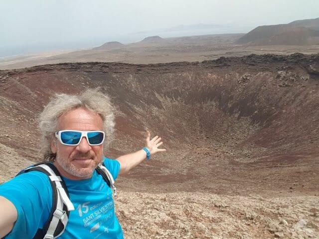 cima volcán Calderón Hondo