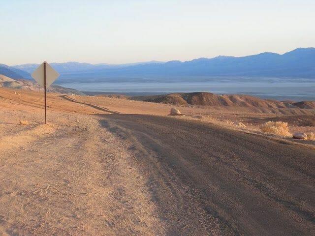 Carretera Artist Drive del valle de la muerte