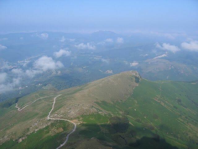 cumbre larrún - Viaje en autocaravana al País Vasco francés