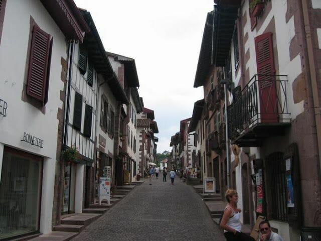 calles Saint Jean Pied de Port