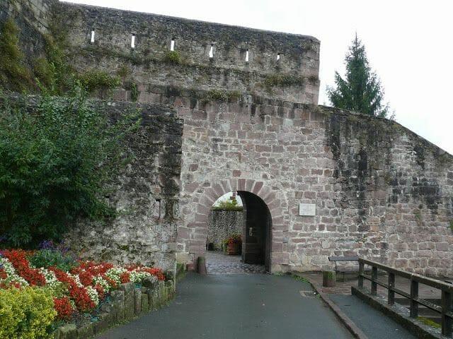puerta muralla Saint Jean Pied de Port