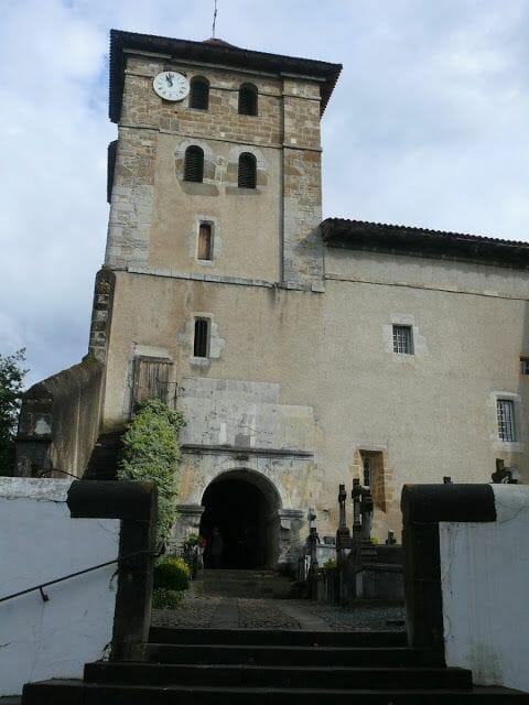 Espellette iglesia