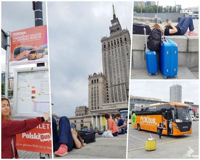OK bus Varsovia Modlin