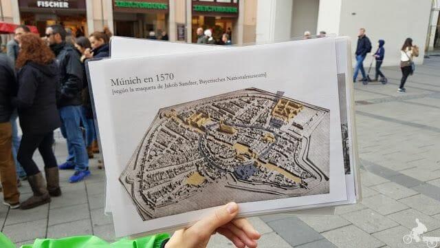 casco historico munich plano 1570