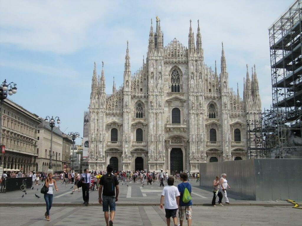 fachada catedral de milán