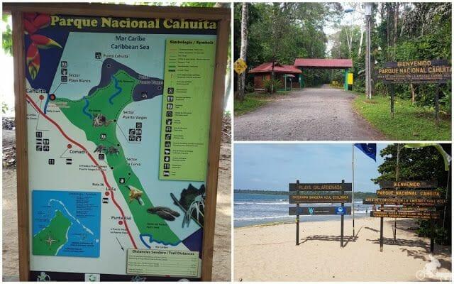 entradas parque nacional cahuita