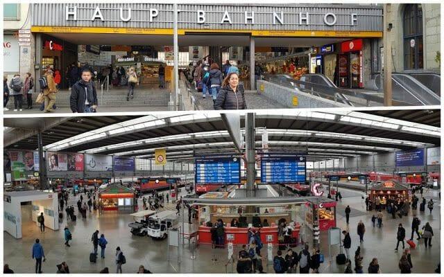 Hauptbahnhof estacion central munich