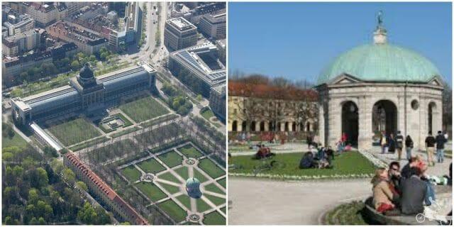 Hofgarten que ver en Múnich en 2 días
