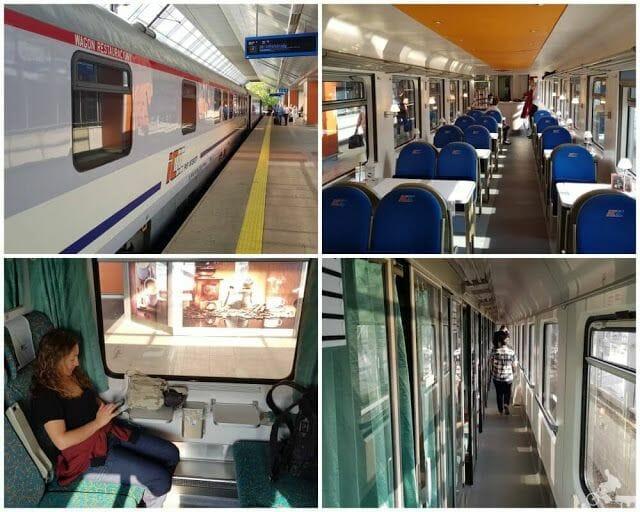 tren Varsovia cracovia